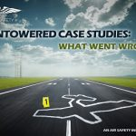 Nontowered case studies: outline of crashed plane on runway