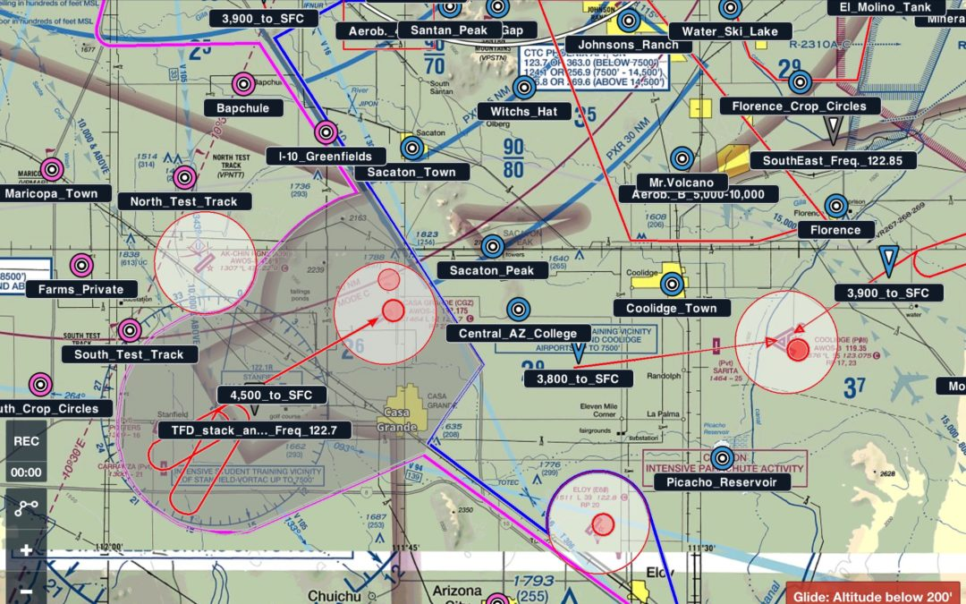 ForeFlight GPS Overlay Of The AFTW Reporting Points Now Available!