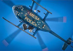 Mesa police chopper