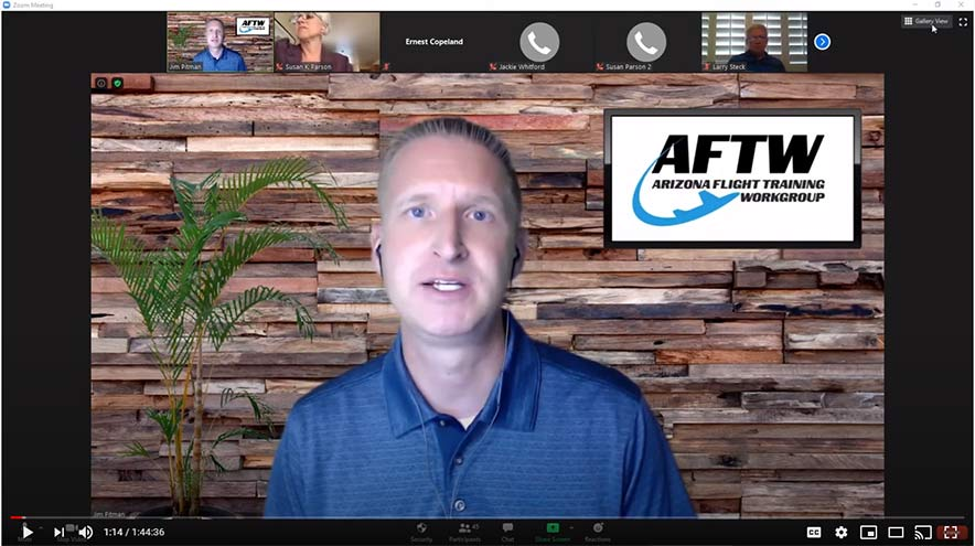 VIDEO: AFTW Meeting Minutes from July 8, 2020