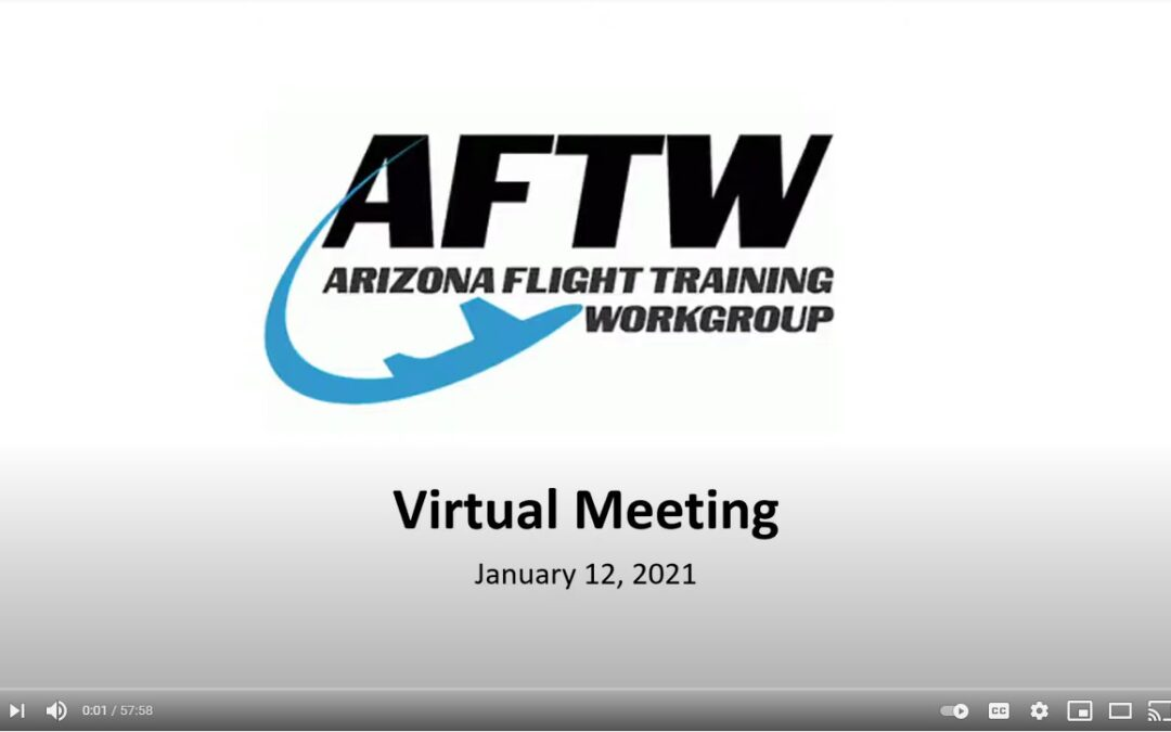 VIDEO: AFTW Meeting Minutes from January 12, 2021