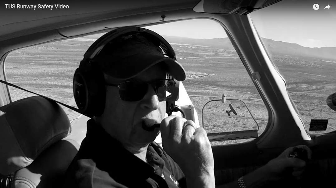 TUS releases runway safety video