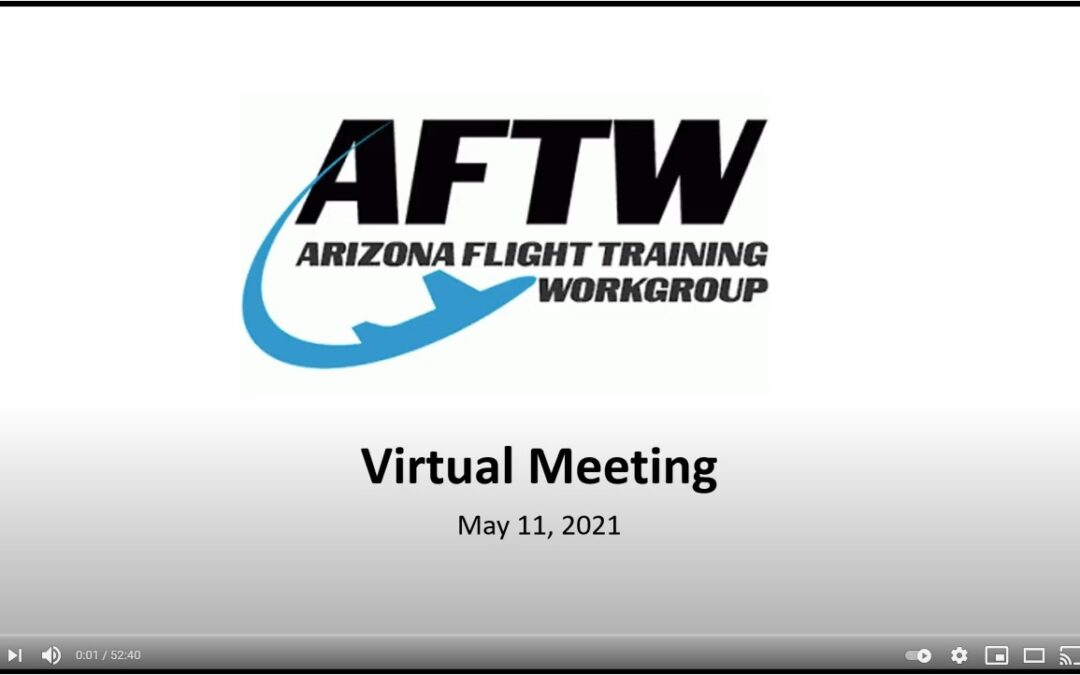 VIDEO: AFTW Meeting Minutes from May 11, 2021